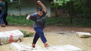 ฐานนินจา ค่ายลูกเสืออนุสรณ์ศุภมาศ ราชบุรี